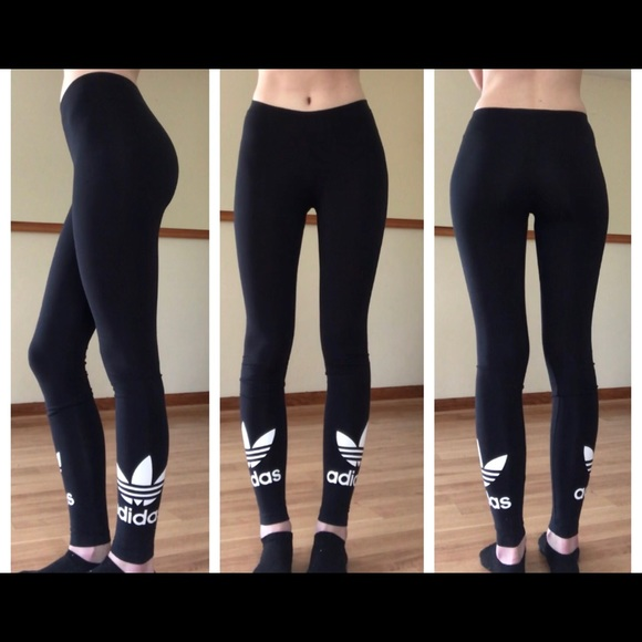 Neue Adidas Originals in voller Länge Leggings Größe XS